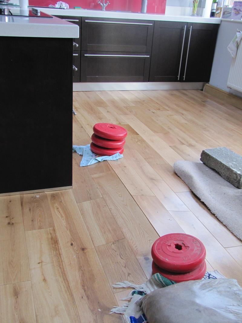 Big Hump in New solid wood flooring   DIYnot Forums