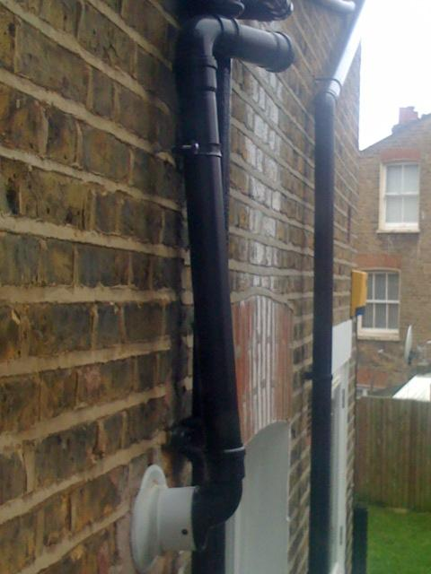 New Boiler Making Loud Clicking Sound Is The Flue Right