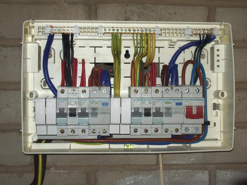 Wiring Diagram Rcd Shower Unit : Th edition consumer unit photos diynot forums