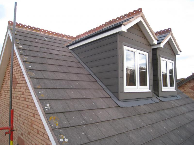 Loft Conversion Dormer Tile Or Render Diynot Forums