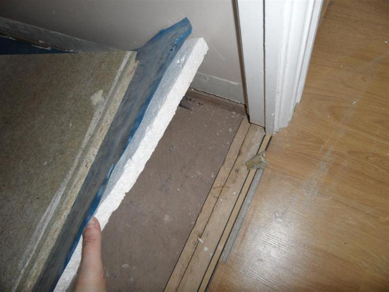 Floating Floor Replacement In A Downstairs Toilet DIYnot Forums - Floor floating compound