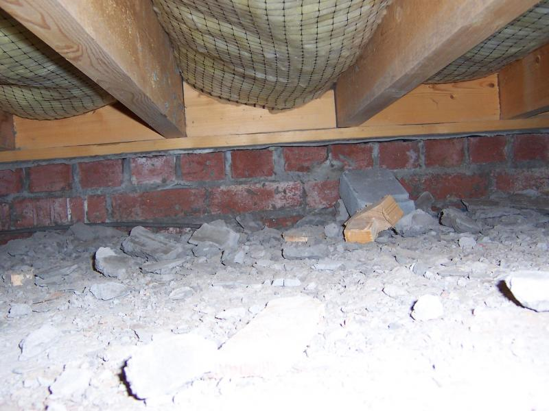 Concrete dust in solum a problem diynot forums for How to clean concrete dust from floors