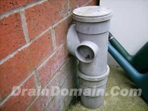 Soil Pipe Through Wall Into Stack Which Fitting