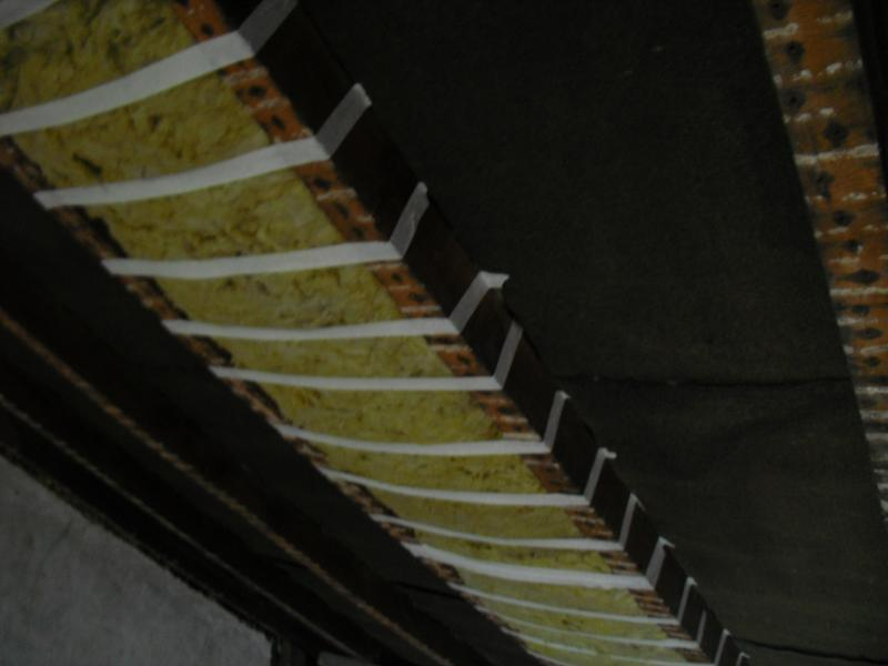 Insulation For Habitable Room Sloped Roof With 70mm