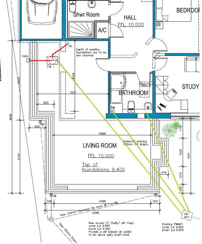 Drainage design diynot forums for Surface drainage system design