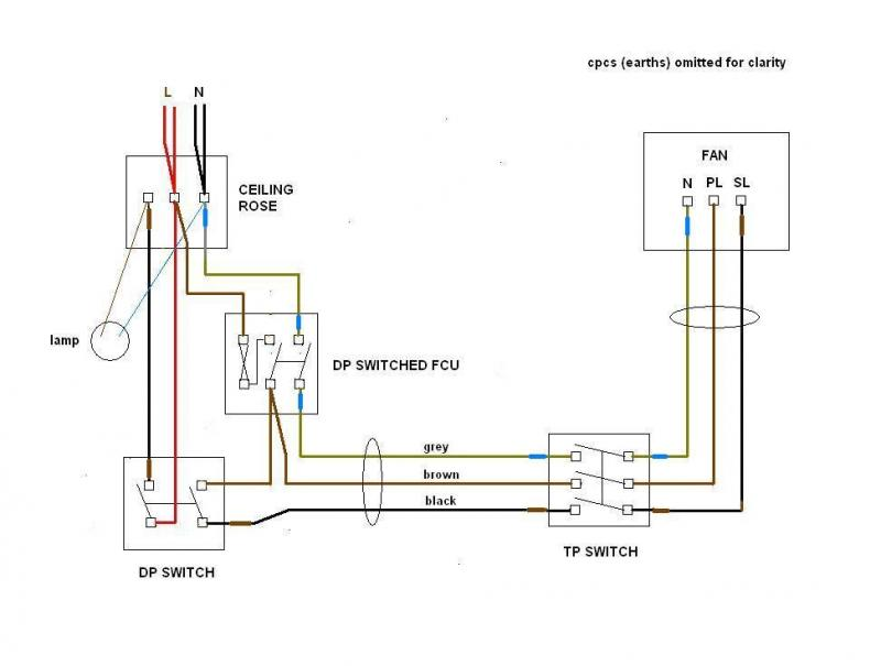full Xpelair Extractor Fan Wiring Diagram on