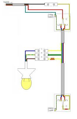 full wiring diagrams for lighting circuits diynot forums lighting wiring diagram multiple lights at gsmportal.co