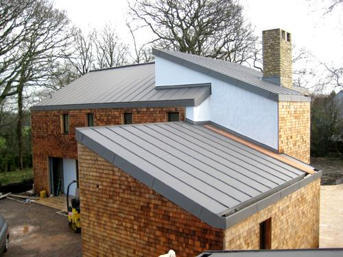 Best roofing options for low pitch ground floor extension Low pitched roof