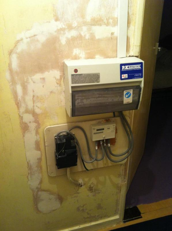 Fuse Box Switch Up Or Down : Boxing in fuse box mains switch diynot forums
