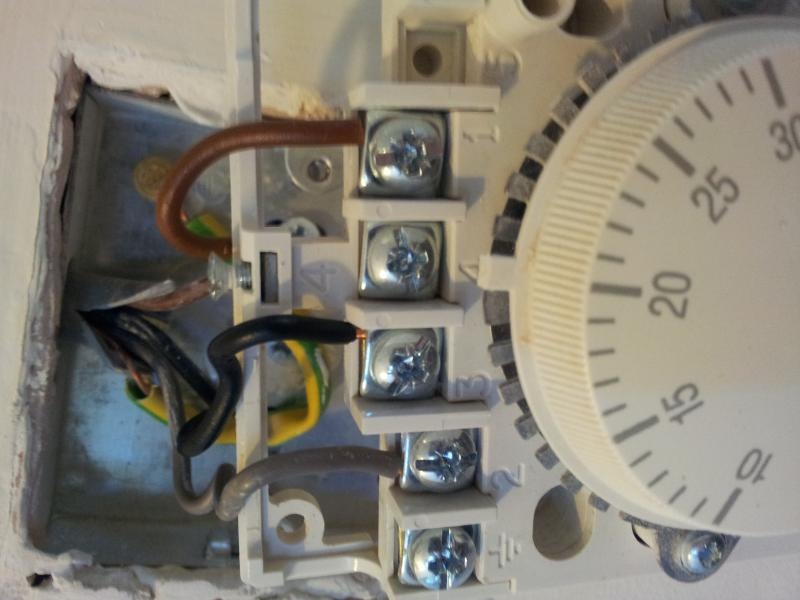 Help  No heating  thermostat    wiring     CM927   DIYnot Forums