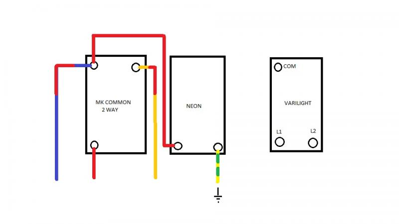 Wiring a grid switch on