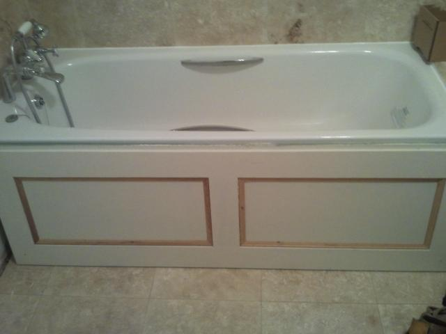 Making and fitting a bath panel | DIYnot Forums