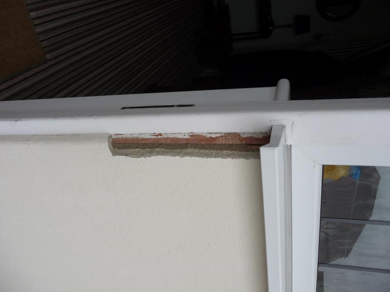 Advice please - damaged render by door.. | DIYnot Forums