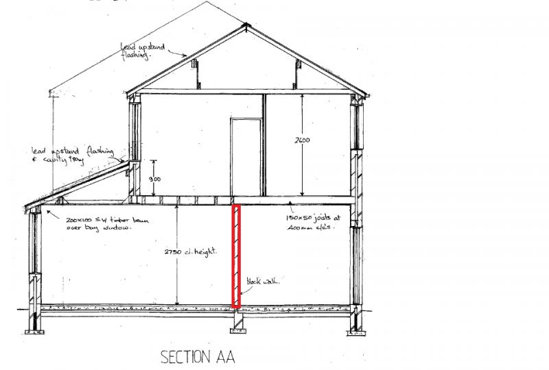how to build an internal stud wall