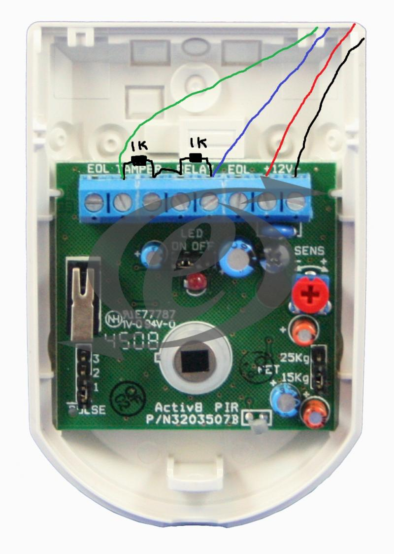 Honeywell Galaxy G2 12 Wiring Pirs Contacts Diynot Forums Contact Diagram
