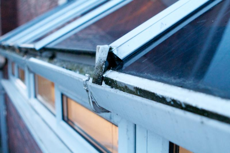 Conservatory Roof Glass Pane Slipped Again Help Diynot Forums
