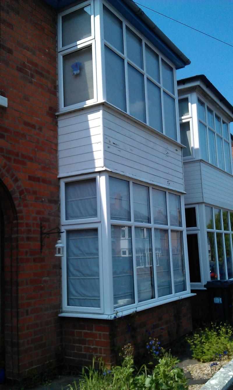 Bay window cladding diynot forums for Window cladding