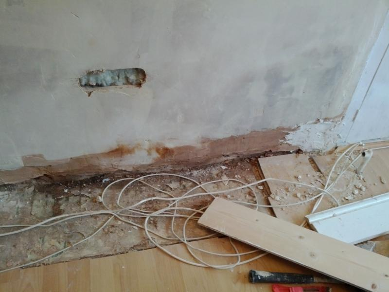 Fitting Skirting Board To Uneven Plastered Wall Diynot