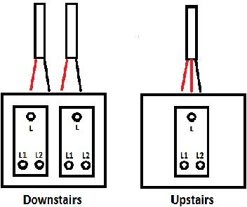 light switch wiring diagram l l light image hall landing switches old wiring diynot forums on light switch wiring diagram l1 l2