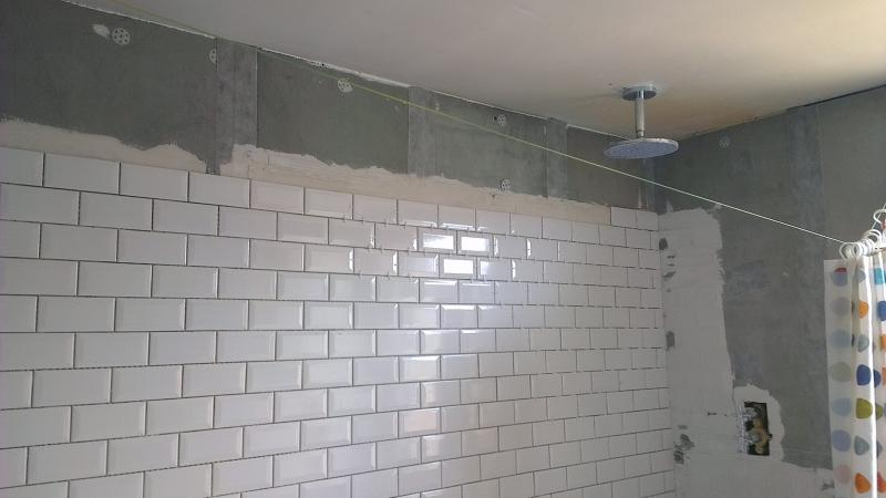The Tiles Are Only 8mm Proud Of The Marmox Boards The Question Is  Whatu0027s The Best Way To Finish The Top Bit Of The Wall