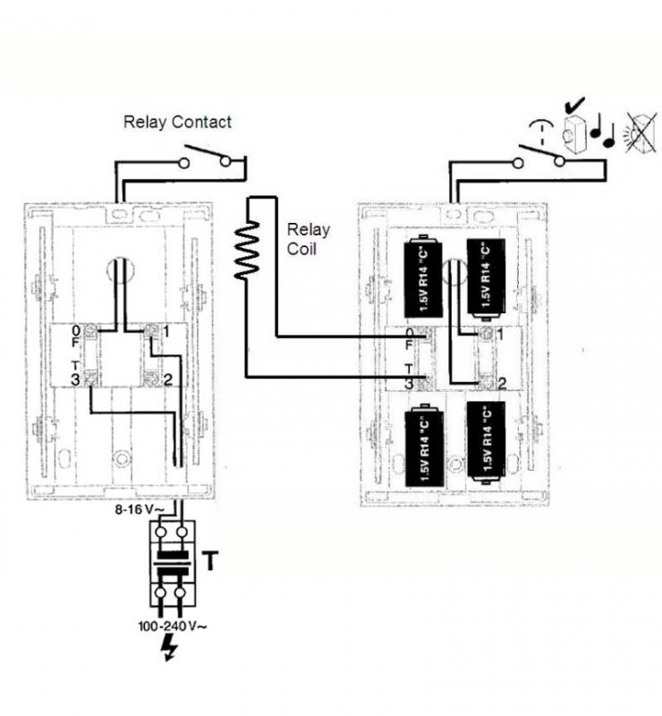 Doorbell For House Wiring Diagrams - Free Download Wiring Diagram