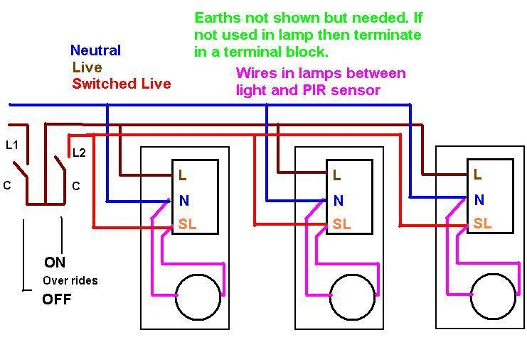 full wiring 2 pir sensors diagram timer wiring diagram \u2022 free wiring wiring diagram for outside light with pir at bakdesigns.co