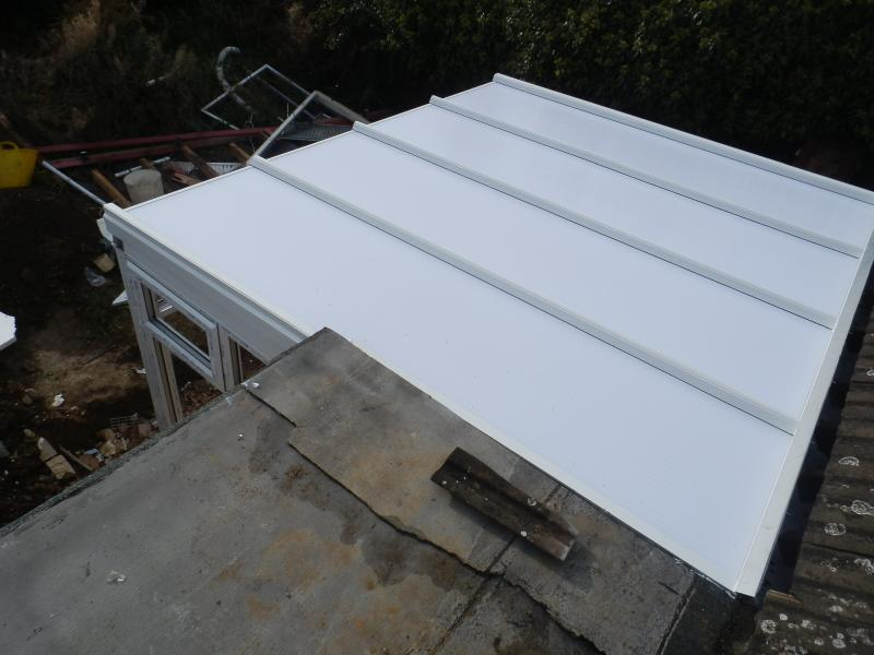 Need Advice To Join Conservatory To Flat Roof Diynot Forums
