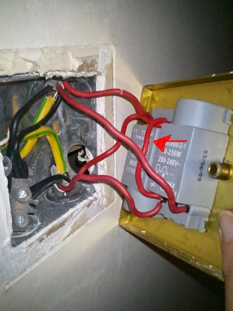 Replacing Double Dimmer With Double Switch Bridge Wire