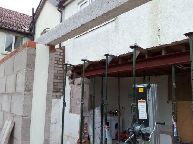 Kitchen Extension Amp Worrying Joist Query Diynot Forums