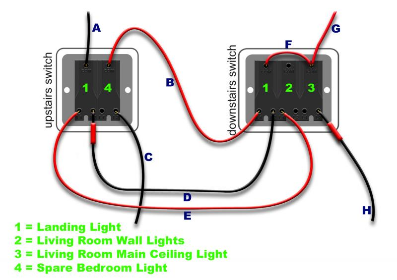 Two way switch diynot forums i have attached a diagram which i have created to illustrate what ive currently got it looks nothing like the two way switch wiring diagrams i can find on asfbconference2016 Gallery