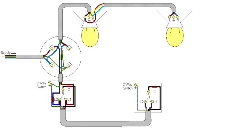 Adding A New Light Switch To An Existing Circuit Uk - Wiring Diagram •