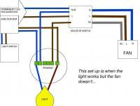 How to wire in a bathroom extractor fan how to wire bathroom ceiling extractor fan not working diynot forums asfbconference2016 Images