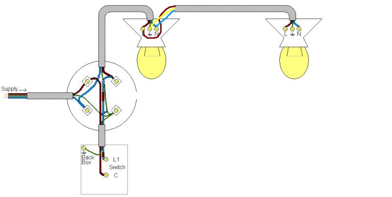 two lights to a light switch wiring diagram with Single Switched Light To 2 Way Adding Another Light on 2509236 Brake And Tail Lights Won T Work besides How To Wire A Light Switch Home in addition Three Way2 further Police Siren Circuit Using Ne555 Timer furthermore Single Switched Light To 2 Way Adding Another Light.