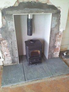 Heat Insulation For A Wood Burning Stove Diynot Forums