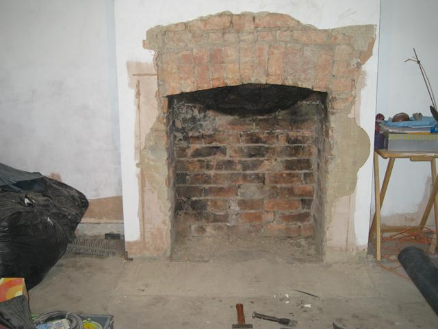 Brick Fireplace Squaring The Arch Diynot Forums