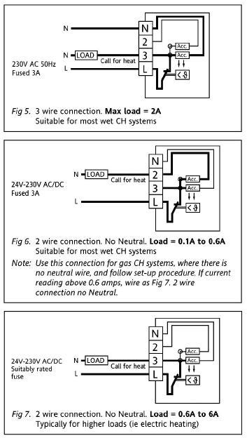 full thermostat, timer & boiler wiring diynot forums siemens rwb7 wiring diagram at bayanpartner.co