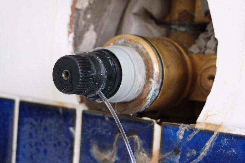 I Have Just Worked Out How To Upload Images Onto The Site So Attached A Of Leak Streaming From Black Thermostat Adjustment