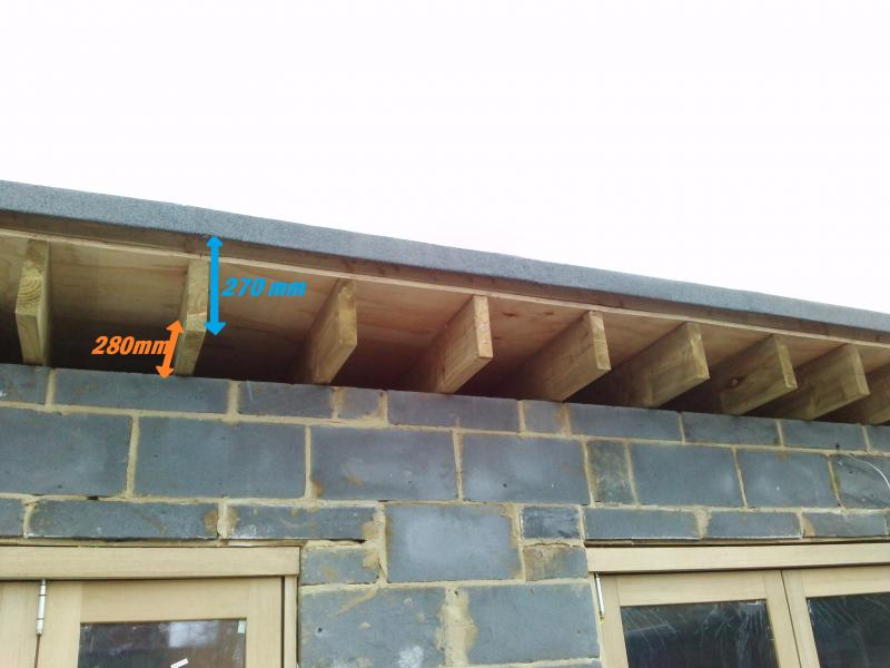 Flat Roof Advice On Sofit And Fascia Boards Diynot