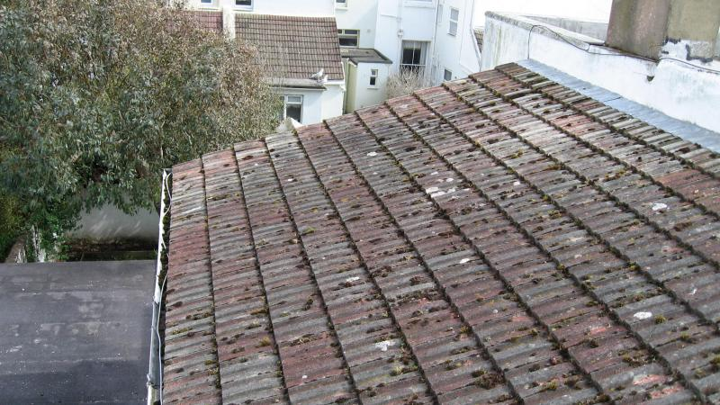 Scraping Off Moss Walking On Roof Diynot Forums