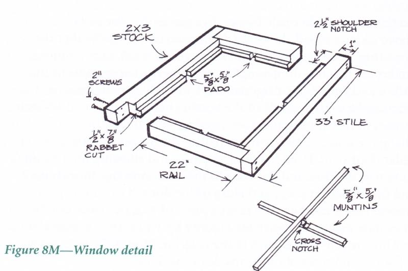 building timber window frame