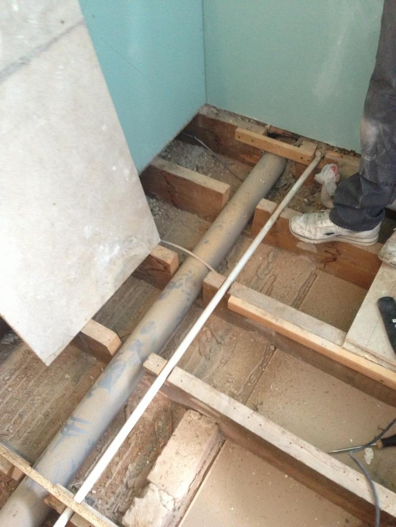 Soil Pipe Through Joists Help Diynot Forums