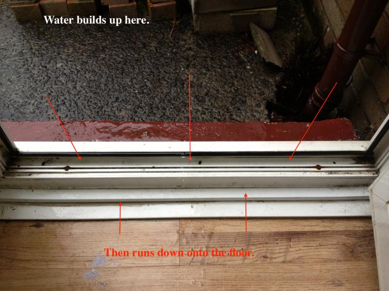 Water Coming In From Upvc Door Diynot Forums