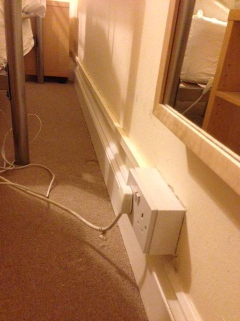 Chasing Electric Cables Into Breeze Block Wall Diynot Forums