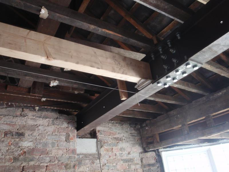 Can I Raise A Steel Beam 35mm Using Another Padstone