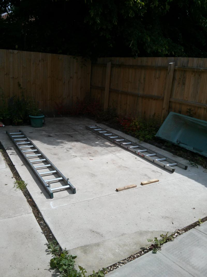 Using Old Slab For Shed Base Was Leveling Compound Diynot Forums