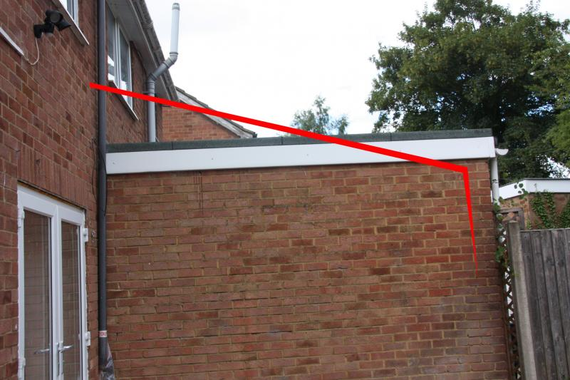 Pitched Roof Next To Flat Roof Flashing Question Diynot