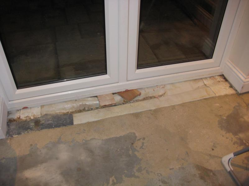 French Doors What Do I Do With The Inside Cavity