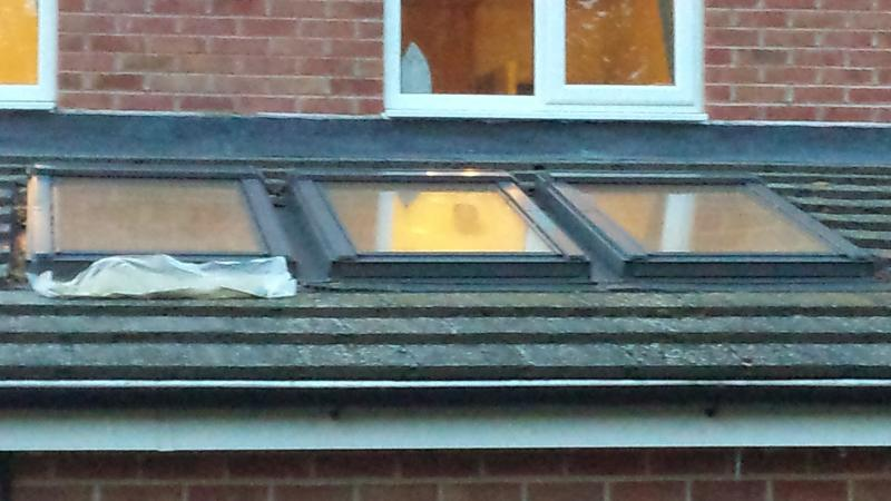 Leaking Roof Bottom Of Velux Window Diynot Forums