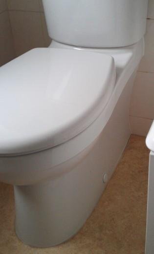 Fabulous Loose Seat On Close Coupled Toilet Diynot Forums Short Links Chair Design For Home Short Linksinfo