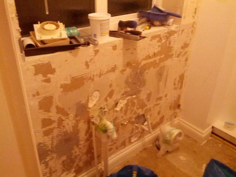 I Would Really Reciate Any Advice You Have To Offer On Preparing These Walls For Tiling
